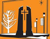 Midland Lutheran College Christmas Card, 2005