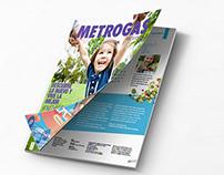 Rediseño Revista Metrogas