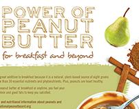 Peanut Butter Napoleon Recipe Card