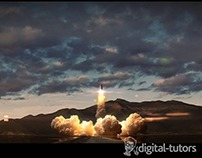 Simulating a Rocket Launch Sequence in 3ds Max & FumeFX