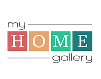 "Logo ""My HOME GALLERY"""