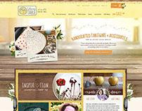 E-Commerce Homepage Web Design