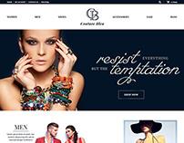 Fashion E-Commerce Web Design