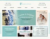 Interior Decorating E-Commerce Web Design