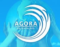 AGORA logo design
