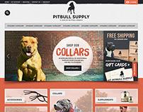 E-Commerce Web Design for Dog Suppy Company