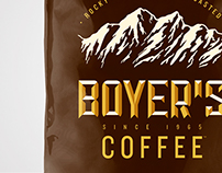 Boyer's Coffee Bag Packaging