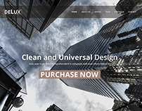 delux PSD theme