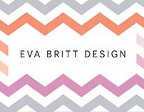 Eva Britt Design Biz Cards