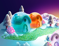 Candypot (mobile game) Map