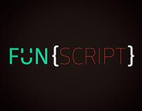 fun{script} Logo
