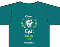 Corporate Cup Run Shirt Design, 2014