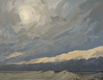 Paintings of the Waddensea-area Holland