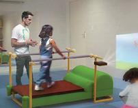 Esteira Infantil com Sistema de Projeção