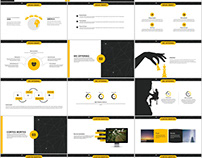 30+ yellow business plan PowerPoint templates download
