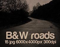 B&W roads