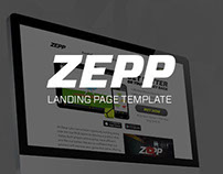 Zepp Labs Landing pages
