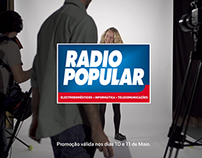 Radio Popular - Charters de descontos