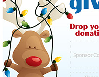 Holiday Donation Posters