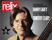 Relix Magazine Cover Project