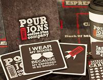 Pour Jon's Coffee & Tea Branding