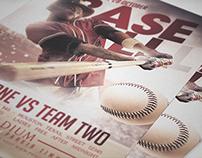 Baseball Flyer Template