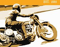 Bikes Blues & BBQ Poster