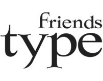 Friends' typeface