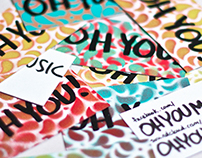 Oh You! Promotional Cards
