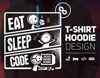 Eat Sleep Code Repeat | Tshirt & Hoodie Design