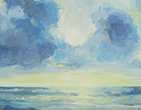 Seascape of English Chanel
