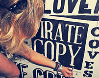 Boardmasters Festival Typography Mural