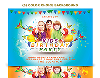 Kids Birthday Party Template