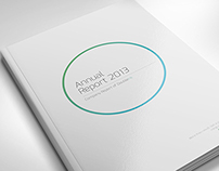 Annual Report DoubleInk // A4 and US Letter Size