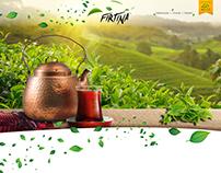 FIRTINA Çay | Branding & Web Design