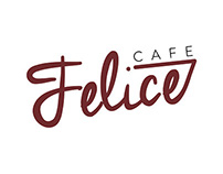 Felice Cafe logo design