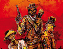 Red Dead Redemption Poster Short Film