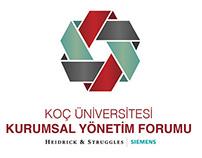 Koç Üniversitesi Kurumsal Yönetim Forumu logo design