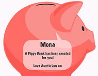 Baby's First Piggy Bank