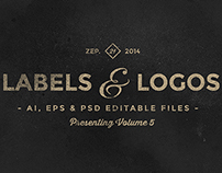 Vintage Labels & Logos Vol.5
