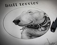 """""""Bull terrier"""", 2013."""