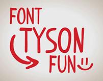 Font TYSON FUN