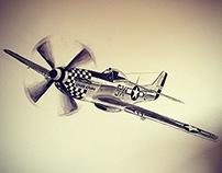 P-51D Mustang // Upupa Epops
