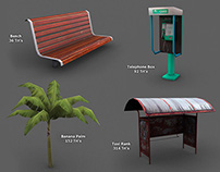 Low Poly Game Models