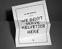 No Helvetica