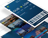 UI Ryanair Smartphone App Concept