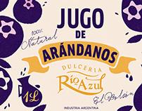 | JUGO de ARÁNDANOS