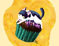 Pucca cupcake