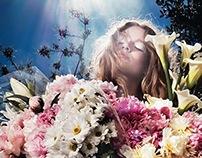 Steve Hiett | Elle France July 2014 |  Comme Une Fleur