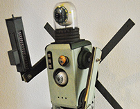 Two eyes Robot drone toy!